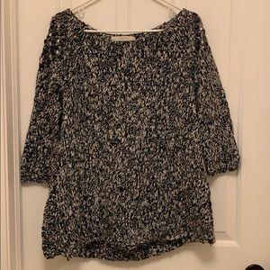 Zara embellished sweater